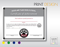 Print & Graphic Design | Woodland Park Middle School