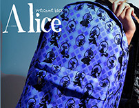 Welcome Back Alice Backpack for Nerd Universe