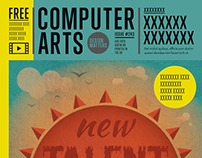 Computer Arts cover illustration 2015