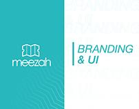 Meezah App Branding & UI
