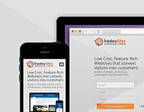 Tradey Sites - Parallax / Scrolling Web Design