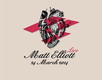 Matt Elliott - Live 2014