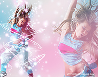 Flare Up Now: Dancer Photo Manipulation