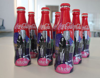 Coca Cola bottle design for Hotel nhow
