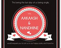 { Aakash ♥ Nandhine }