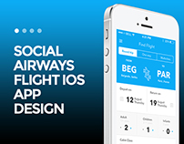 Social Airways App Design