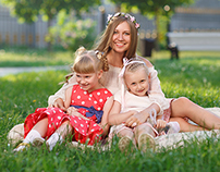 family portrait retouching 2
