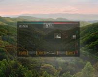 Google Glass Concept UI