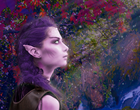 Night Elf Photo Manipulation
