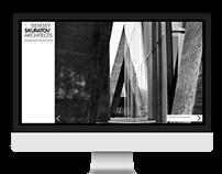 Sergey Skuratov Architects website design