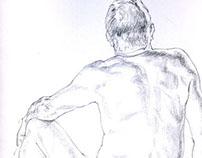 Cork Life Drawing 1.