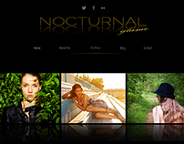Nocturnal glance/WP theme redesign (still in progress)