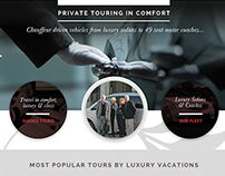 Luxury Vacations UK Website / UI Design