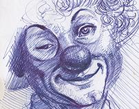 blue drawings