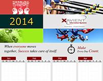 Entry Pass & Calendar Design