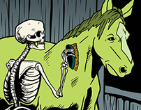 Death and his Pale Horse