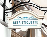 BAR | BEER ETIQUETTE
