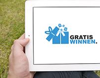 Gratis Winnen | Logo design