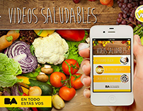 App Facebook Vídeos Saludables