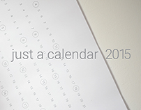 just a calendar 2015 / downloadable