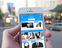 ECommerce Smartphone App Design