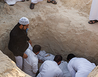 Burial in Saudi Arabia