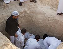 Burial in Saudi Arabia