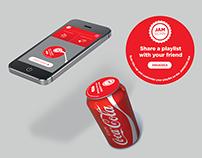 Coca-Cola Jamscan Music Mobile Application
