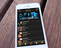 Movies Smartphone App Design