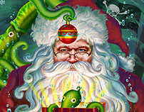 """Squid Kringle"" is Newest in my Seasonal Series"