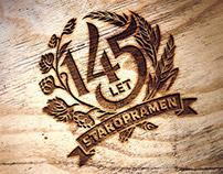Staropramen 145th Anniversary emblem