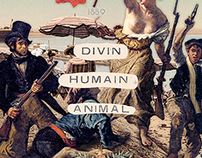 Divin, Humain, Animal (Digital Collage 2014)