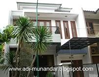 Arsitektur RumahTropisMinimalis di Grahafamily Surabaya