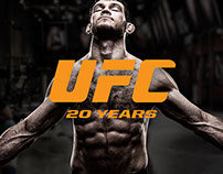 UFC 20TH ANNIVERSARY: Digital Marketing Campaign