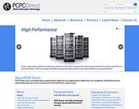 PCPC Homepage design