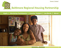 Baltimore Regional Housing Partnership website