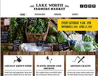 Lake Worth Farmers Market Website