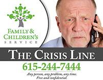 FCS - Crisis Line Simple Advertisement Design