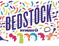 MyMusicRx - Bedstock 2014 Website
