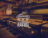 Ichiraku Ramen Logo Design