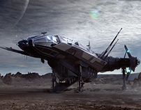Carrack Concept Art (Star Citizen)