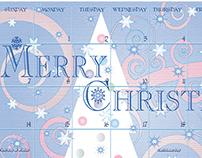 December Calendar Design