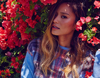 Jamie Chung Editorial for TheInfluence.com