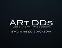 ARt DDs Showreel 2010-2014
