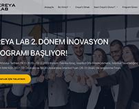 Creyalab.com Web Site Design