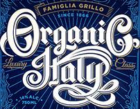 Organic Italy Wine Labels