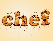 #Chef typographic fan art
