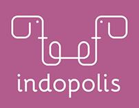 Logo + advertentie Indopolis