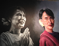 Rangoli 2014 (Colored sand art)
