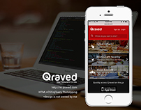 Qraved mobile site Prototyping